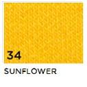 34 Sunflower Auringonkukan keltainen