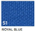 51 Royal Blue Kirkkaansininen